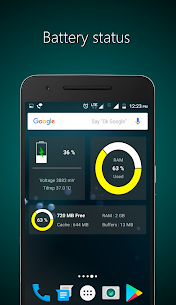 Widgets – CPU | RAM | Battery Apk 3