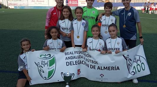 Adra saluda a las campeonas de la Supercopa de Almería 2020-21
