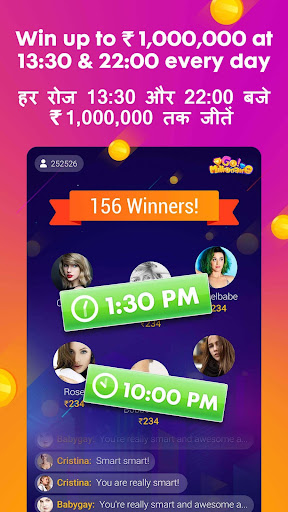 Go Millionaire-Trivia Quiz Win Money Browser 1.2.0 screenshots 1