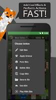 Screenshot of Skin Editor Tool for Minecraft