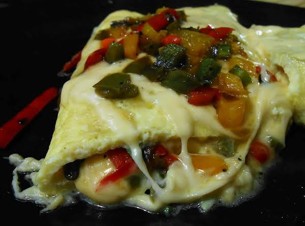 Tex Mex Breakfast Omelet