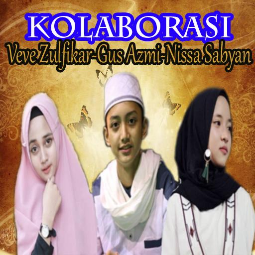 Collaboration Veve Zulfikar,Gus Azmi,Nissa Sabyan (app)