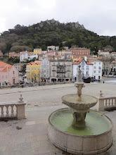 Photo: Sintra depuis le palais National