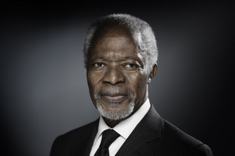 The late Kofi Annan
