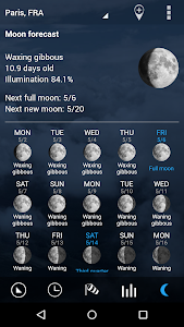 Transparent clock & weather screenshot 6