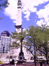 Photo: Monument Circle, Athenaeum walk, Indianapolis IN