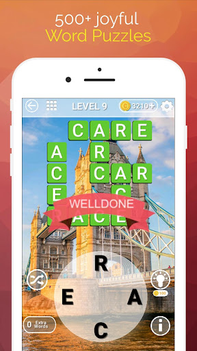 Word Travel:World Trip with Free Crossword Puzzle apkmartins screenshots 1