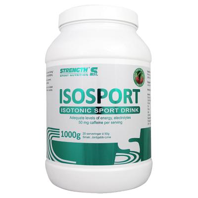 IsoSport 1000g - Jordgubb/Lime