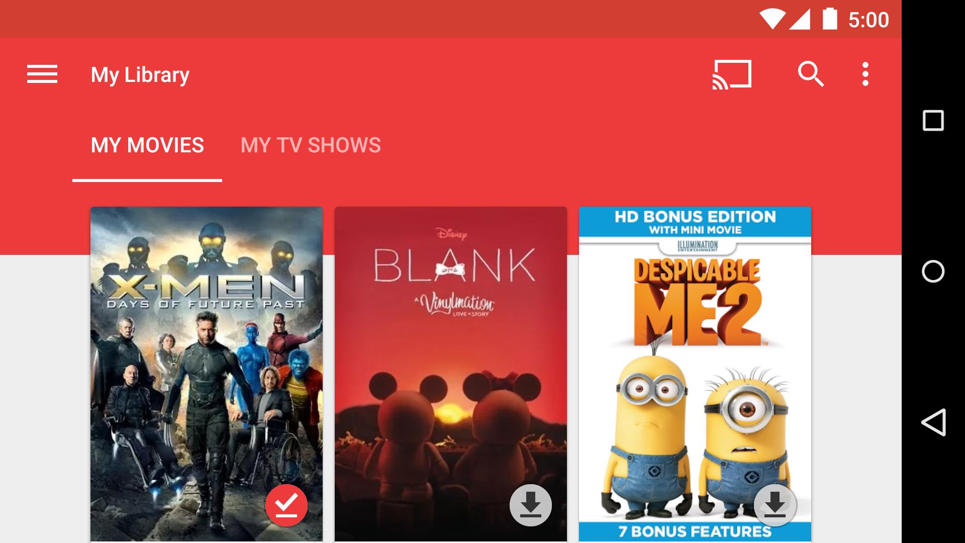 Google Play Movies & TV screenshot #4