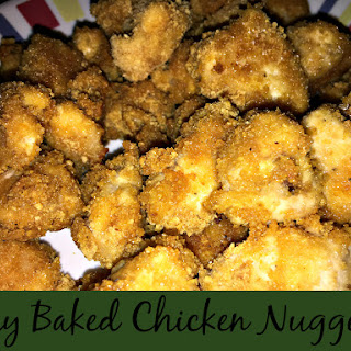 Easy Baked Chicken Nuggets.