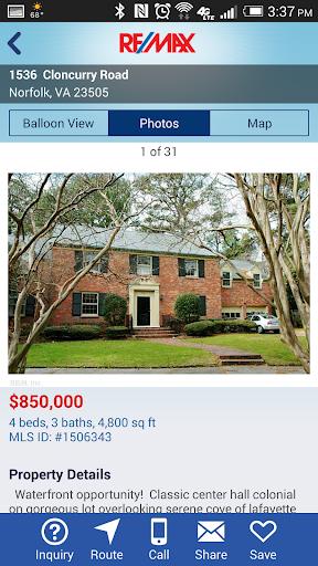 RE/MAX Real Estate Search (US) Screenshot
