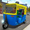 Tuk Tuk Rickshaw icon