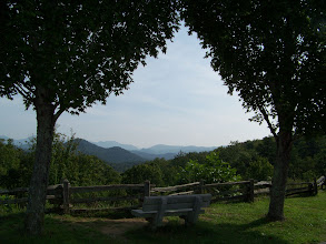Photo: Through The Trees At Popcorn Overlook