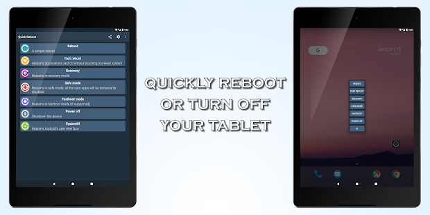 Quick Reboot [ROOT]- screenshot thumbnail