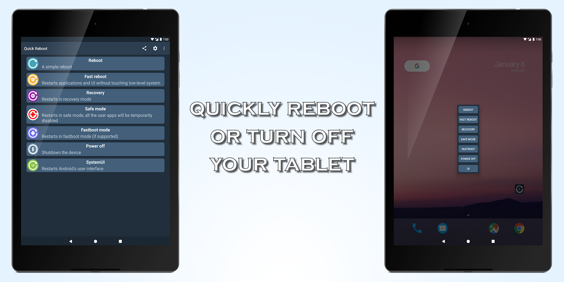 Quick Reboot [ROOT]- screenshot