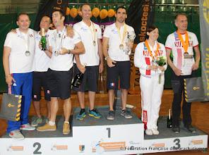 Photo: Podium Freestyle, Championnats du Monde 2014.