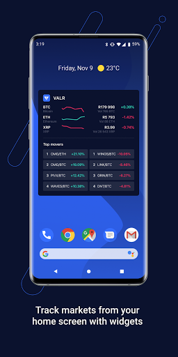 VALR - Bitcoin Exchange & Cryptocurrency Wallet screenshot 8