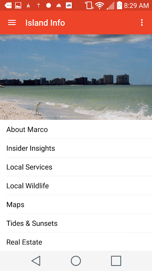 The Marco Review Visitor Guide- screenshot