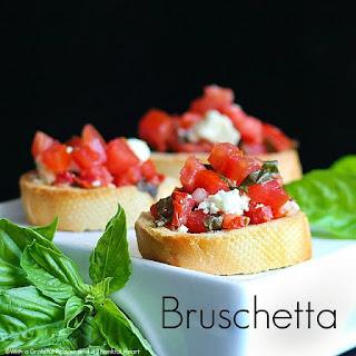 Bruschetta.