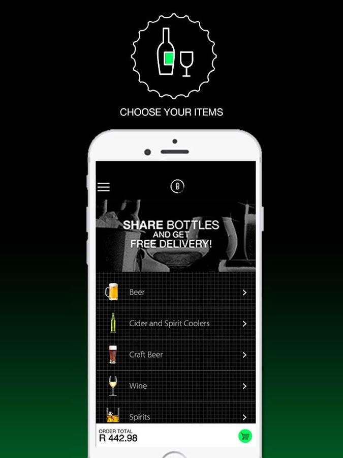 Bottles - Alcohol Delivery- screenshot