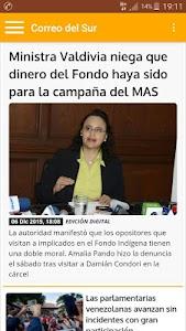 Diario Correo del Sur screenshot 4