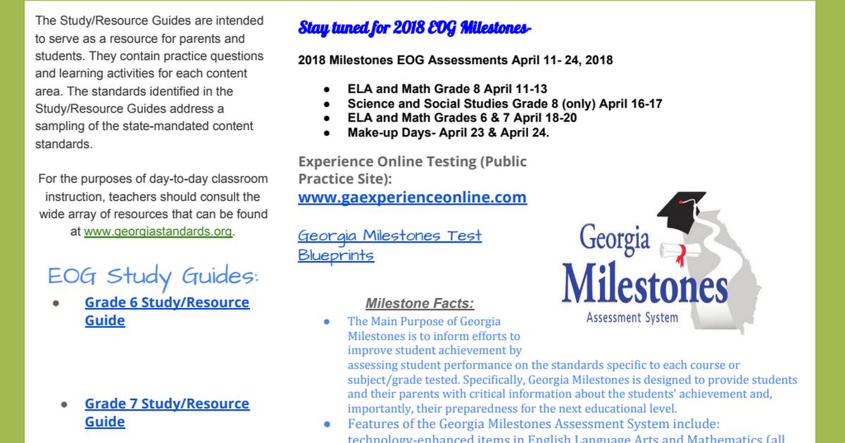 Grade 6 Science Study Guide