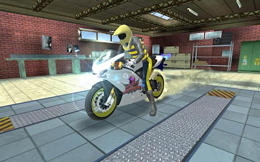 Sports bike simulator Drift 3D apkpoly screenshots 6