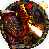Dragon  3D Theme &  wallpaper