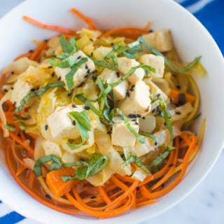 Red Curry Stew & Vegetable Noodles