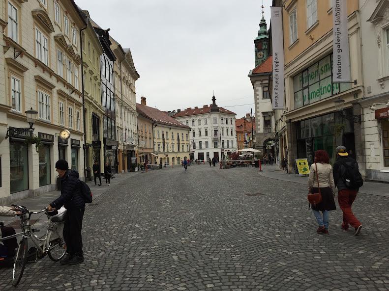 リュブリャナ旧市街