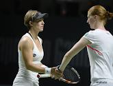 An-Sophie Mestach zag goeie Alison Van Uytvanck op Australian Open
