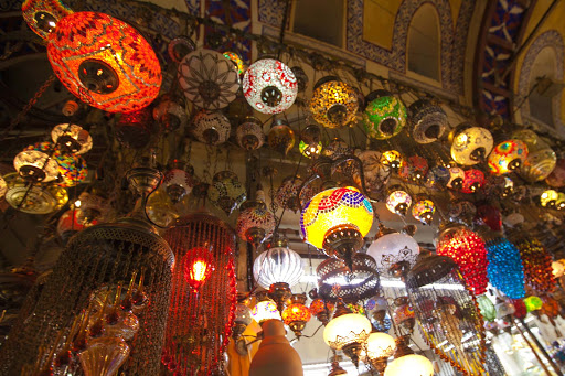 colorful-lamps.jpg - Colorful lamps spotted at the Grand Bazaar in Istanbul, Turkey.