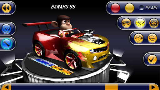 Monkey Racing Free - screenshot
