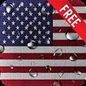 US Flag Live Wallpaper icon