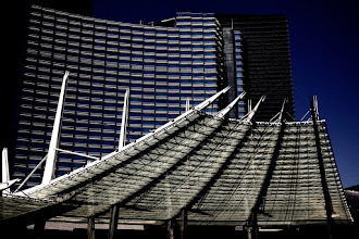 Photo: The entrance to the Aria in Center City in Las Vegas. I just love the architextures of this place! #iphoneography  #365project curated by +Susan Porter and +Simon Kitcher