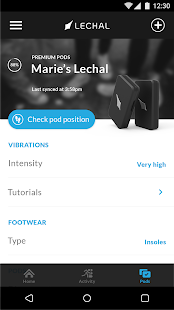 Lechal GPS Navigation Footwear- screenshot thumbnail
