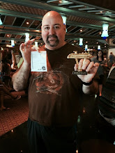 "Photo: Dave won ""a ship on a stick"" for winning Star Wars trivia"