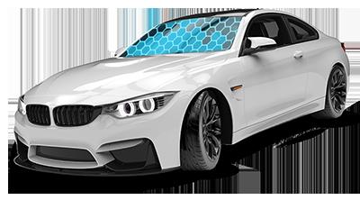 Fahrzeug mit durch DiamondProtect geschützter Scheibe