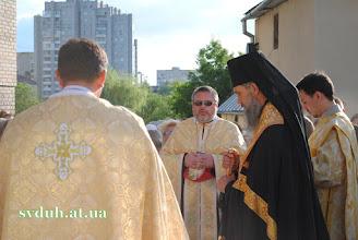 Photo: 26 черв. 2012 освячення хреста вл. Венедиктом