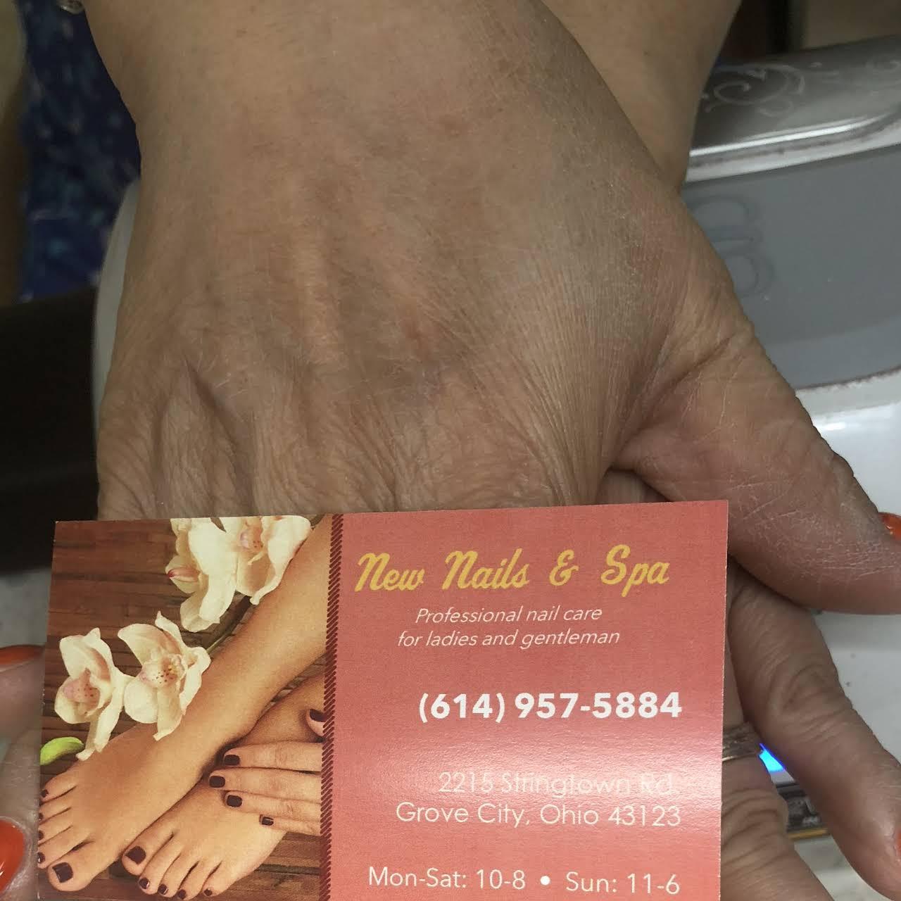 New Nails & Spa - Nail Salon in Grove City