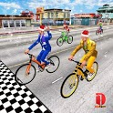 Real Bike Cycle Racing 3D: BMX Bicycle Rider Games icon