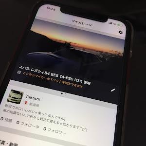 レガシィB4 BE5 のカスタム事例画像 Takumiさんの2019年01月20日19:30の投稿