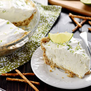 No-Bake Frozen Margarita Pie.