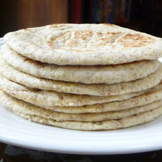 Sesame and Flax Flatbreads.
