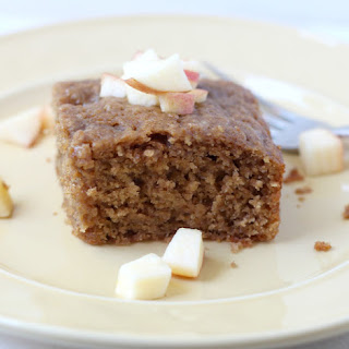 Spiced Apple-Cardamom Coffee Cake.