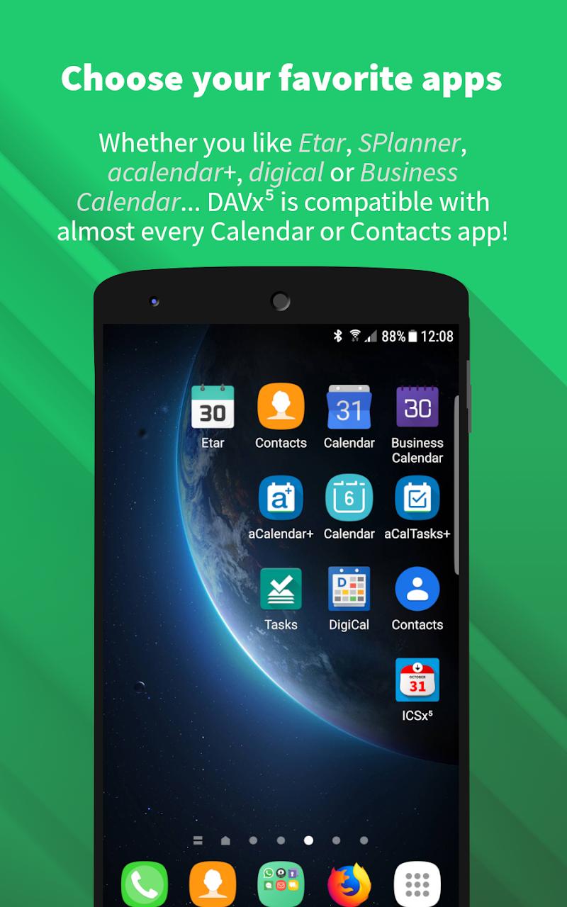 DAVx⁵ (DAVdroid) – CalDAV/CardDAV Client Screenshot 5
