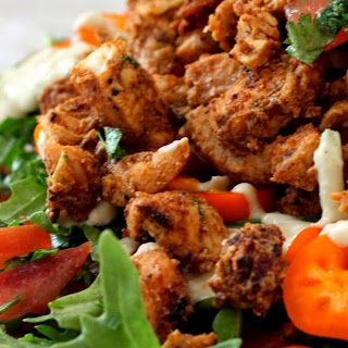 Middle Eastern Chicken Salad