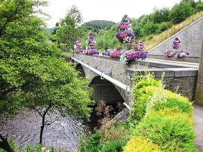 Photo: Trois Pont bridge next to railway