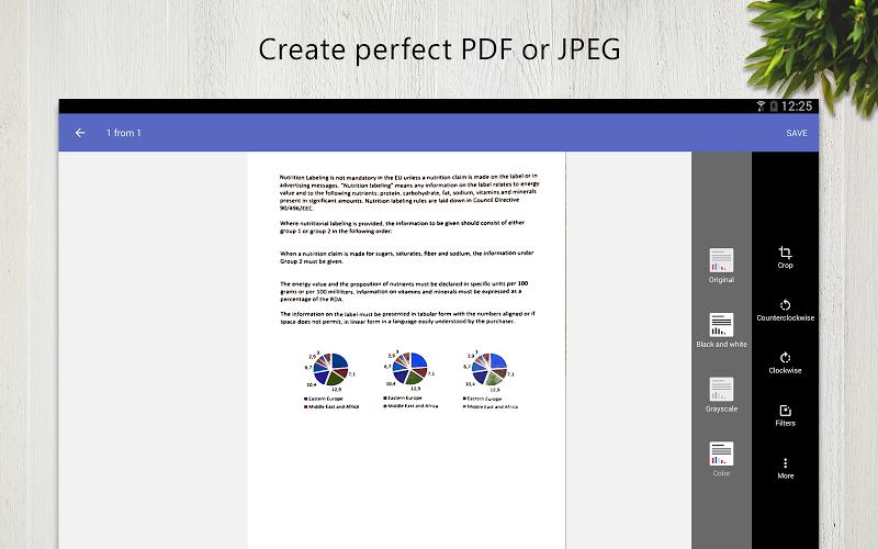 FineScanner Pro - PDF Document Scanner App + OCR Screenshot 6