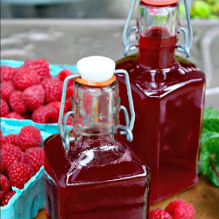 Fresh Raspberry Syrup for Drinks Recipe